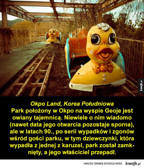 Opuszczone parki rozrywki z całego świata