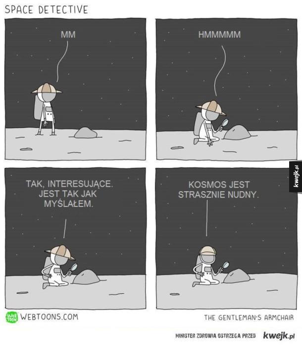 Kosmiczny detektyw