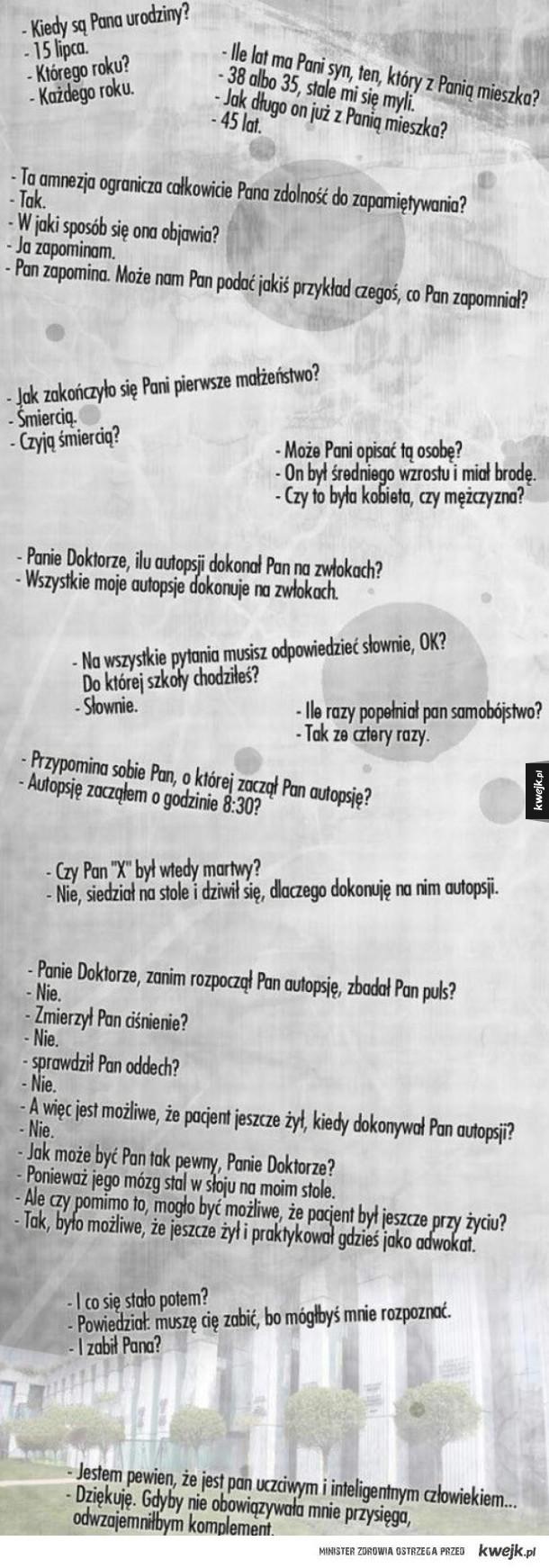 Teksty z polskich sądów