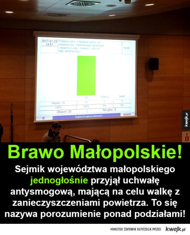 Kraków powoli żegna smog