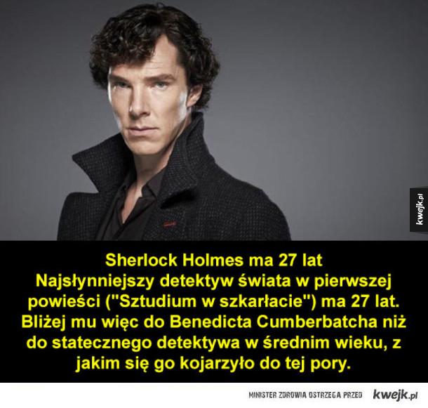 Ile naprawdę mają lat ci fikcyjni bohaterowie?
