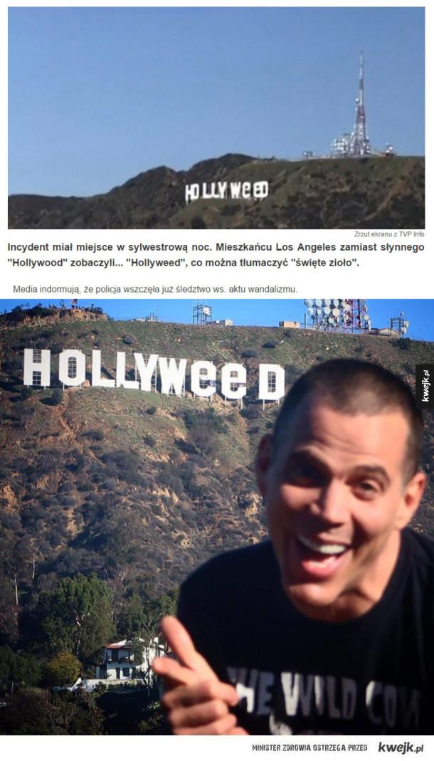 Nowy rok w Hollywood