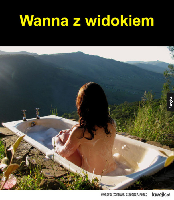Wanna z widokiem