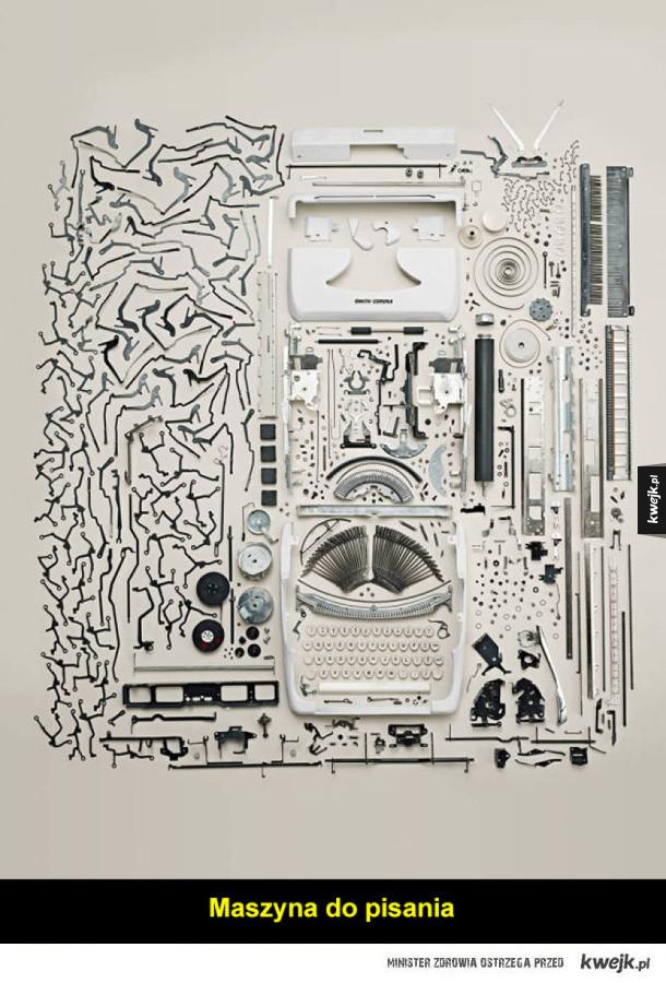 Artysta Todd Mclellan rozkłada wszystko na części pierwsze