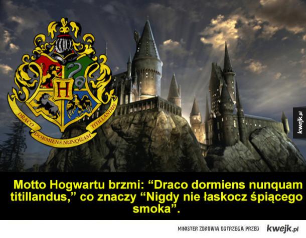 Tego jeszcze mogłeś nie wiedzieć o Harrym Potterze, cz. 2