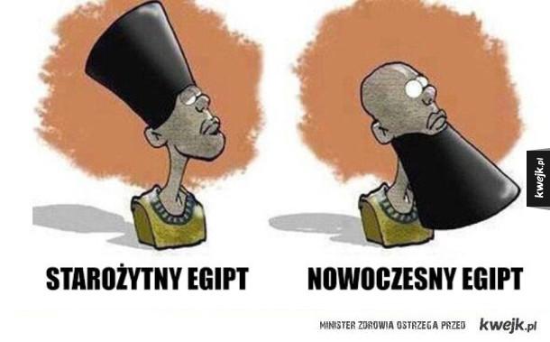 egipt dawniej i teraz