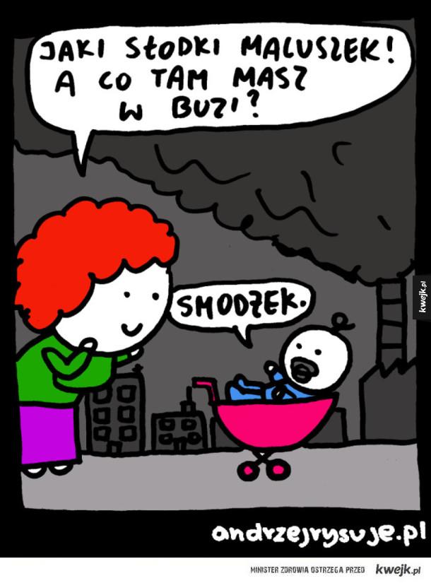 Co masz w buzi?
