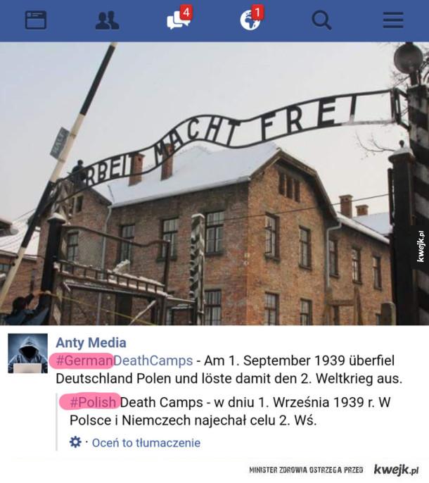 Tymczasem Facebook tłumaczy