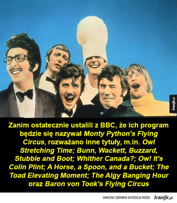 Kilka ciekawostek o Latającym Cyrku Monty Pythona