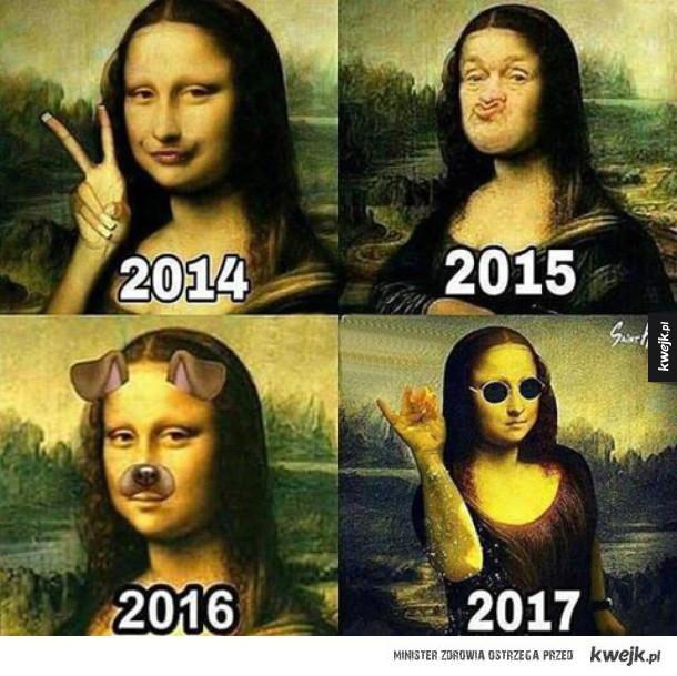 Ewolucja...
