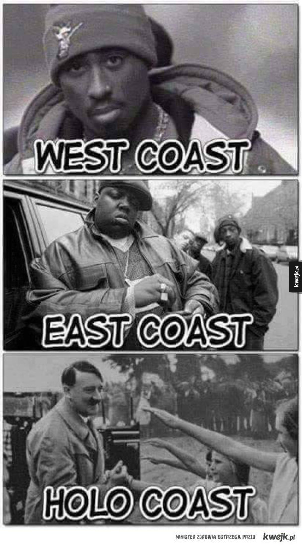 from the east coast to the west coast