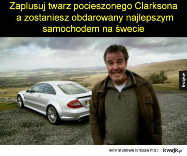 Clarkson na szczęście