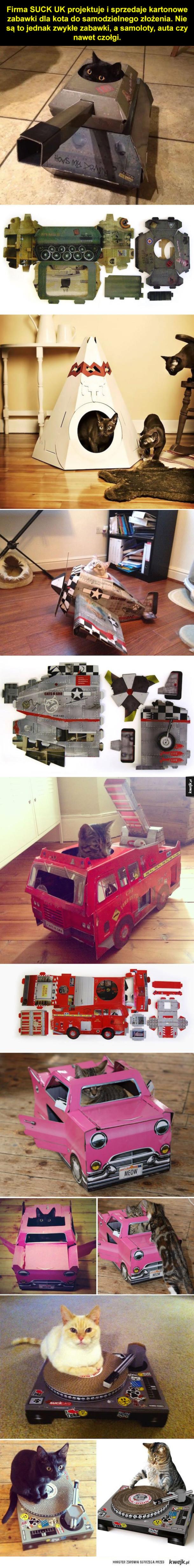 Nareszcie czołg dla kota