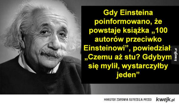 Cięta riposta Einsteina i inne ciekawostki na dziś
