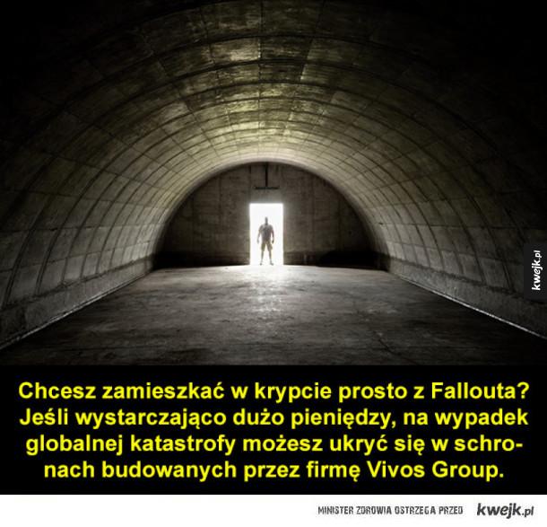 Największe osiedle prywatnych bunkrów na świecie