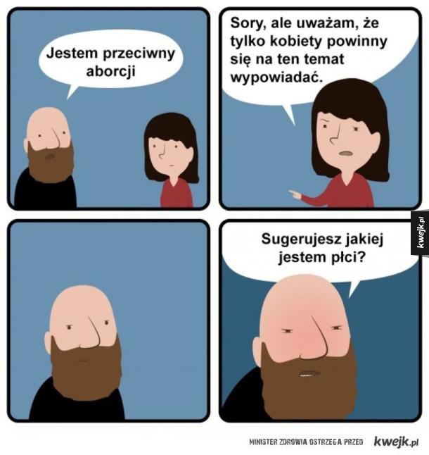 Gender surrender