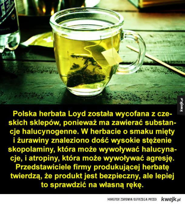Herbata, halucynacja, taka sytuacja