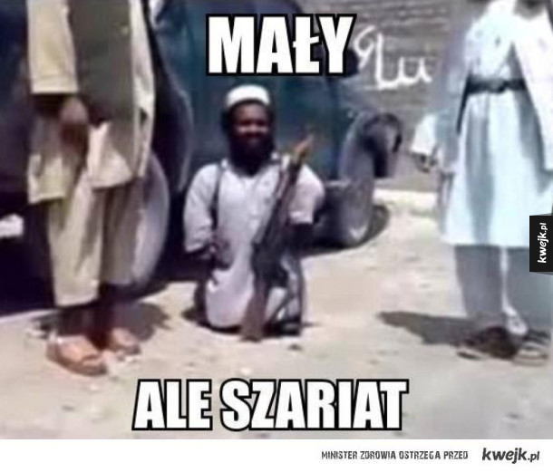 Mały, ale szariat