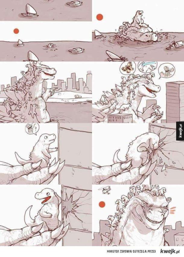 Godzilla: Początek