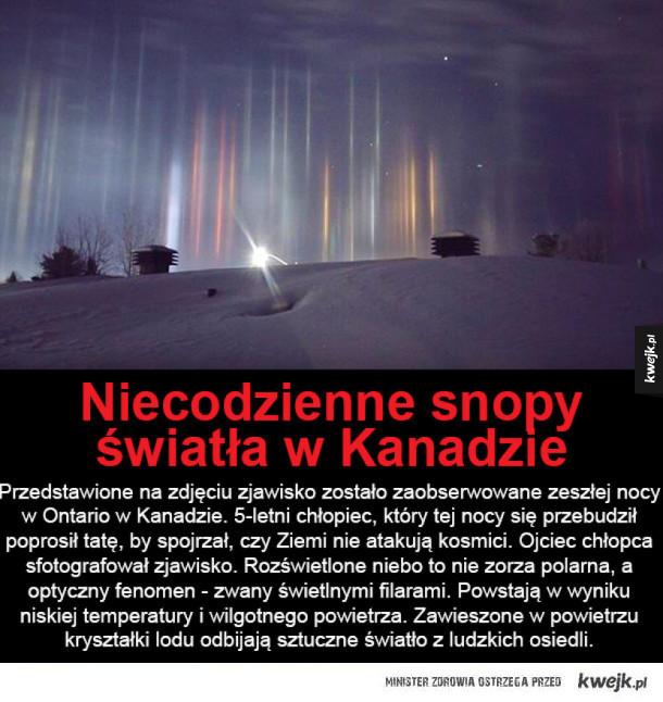 Niezwykłe zjawisko na nocnym niebie