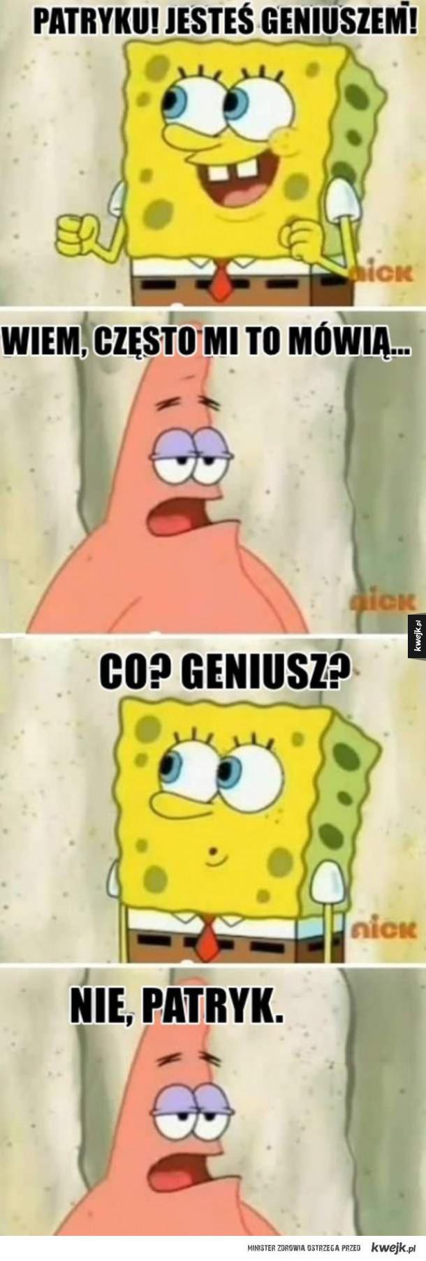 jesteś geniuszem
