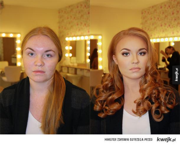 Jak makijaż może odmienić wygląd dziewczyny