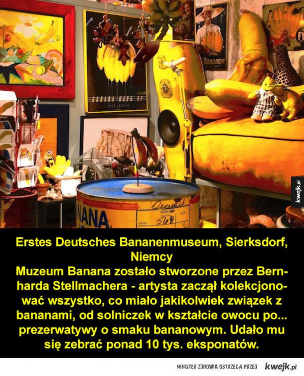 Dziwne i niecodzienne muzea z całego świata
