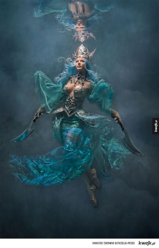 Magiczne, podwodne portrety autorstwa Cheryl Walsh