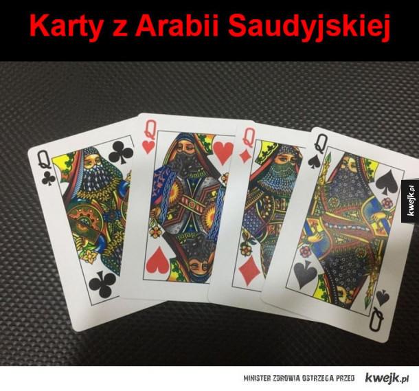 Karty w Arabii Saudyjskiej