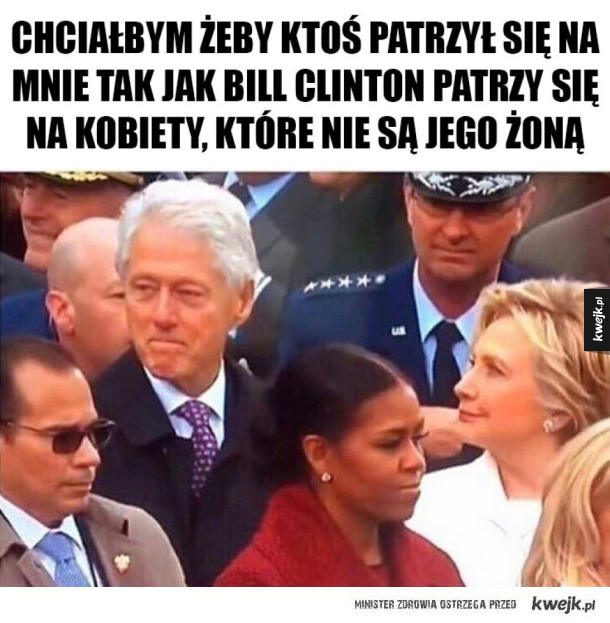 Bill Clinton obcina laski