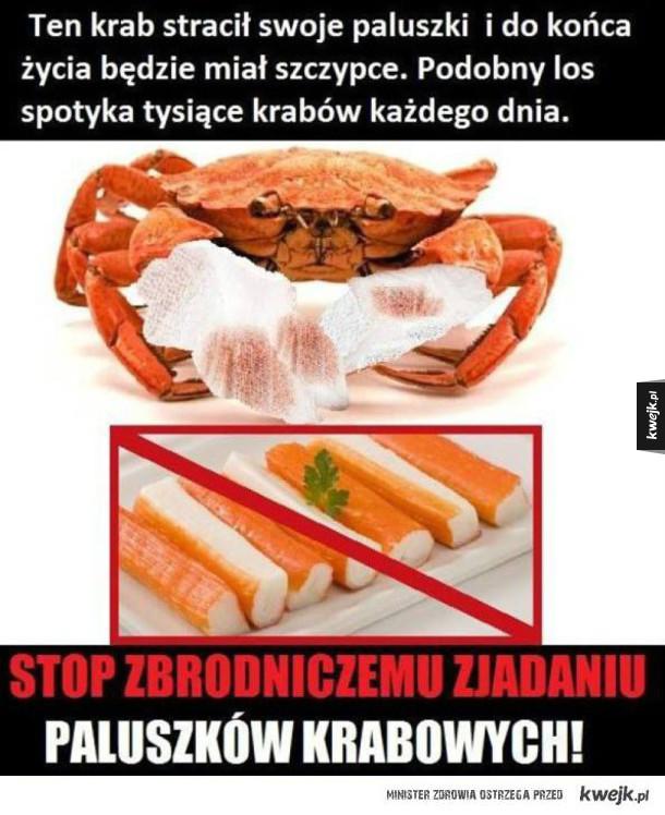 zlitujmy się nad krabami!