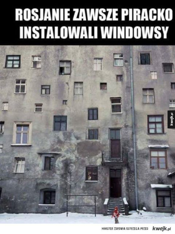 Windows w Rosji