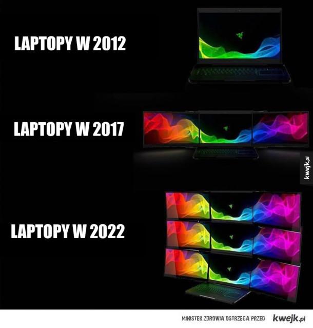 Ewolucja laptopów
