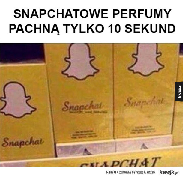 Snapowe perfumy