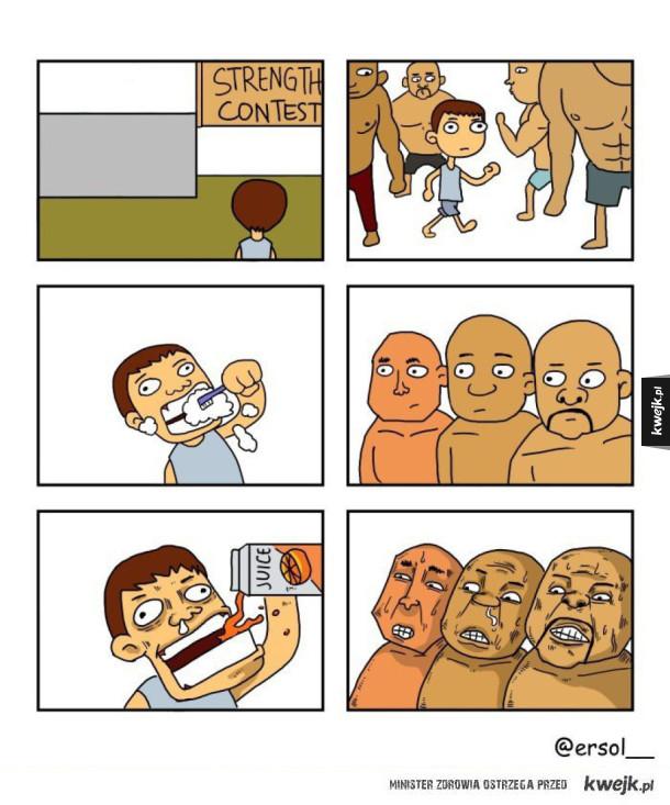 Prawdziwy siłacz