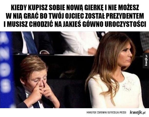 Biedny syn prezydenta