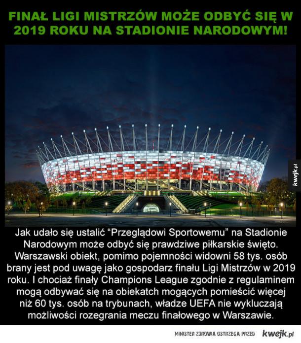 Wielkie sportowe święto na Narodowym!