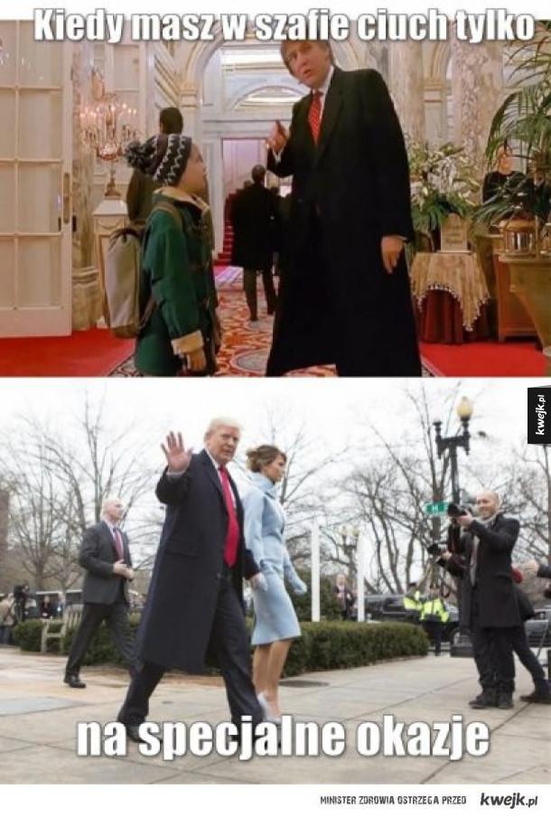 Memy po Inauguracji Trumpa