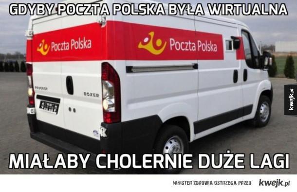 Poczta polska taka jest