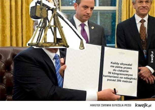 Piewszy dekret prezydenta