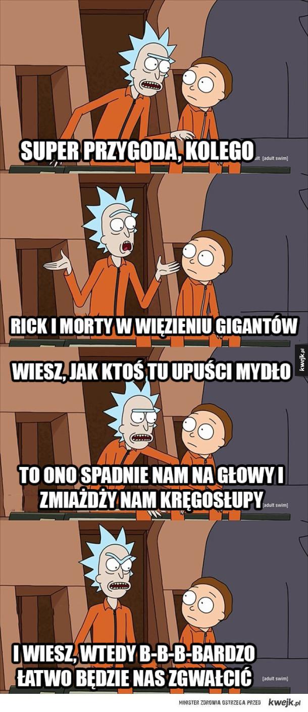 Rick i Morty w więzieniu gigantów