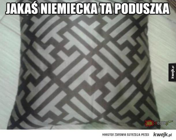 jakaś dziwna poduszka