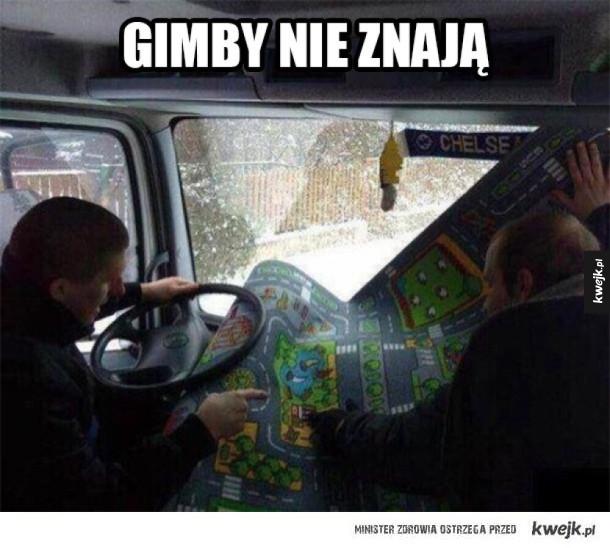 Kiedyś nie było GPSów