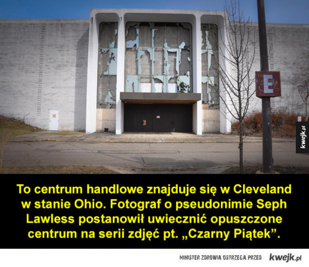 Opuszczone centrum handlowe