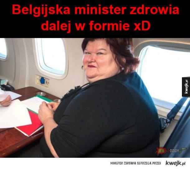 belgijska minister zdrowia
