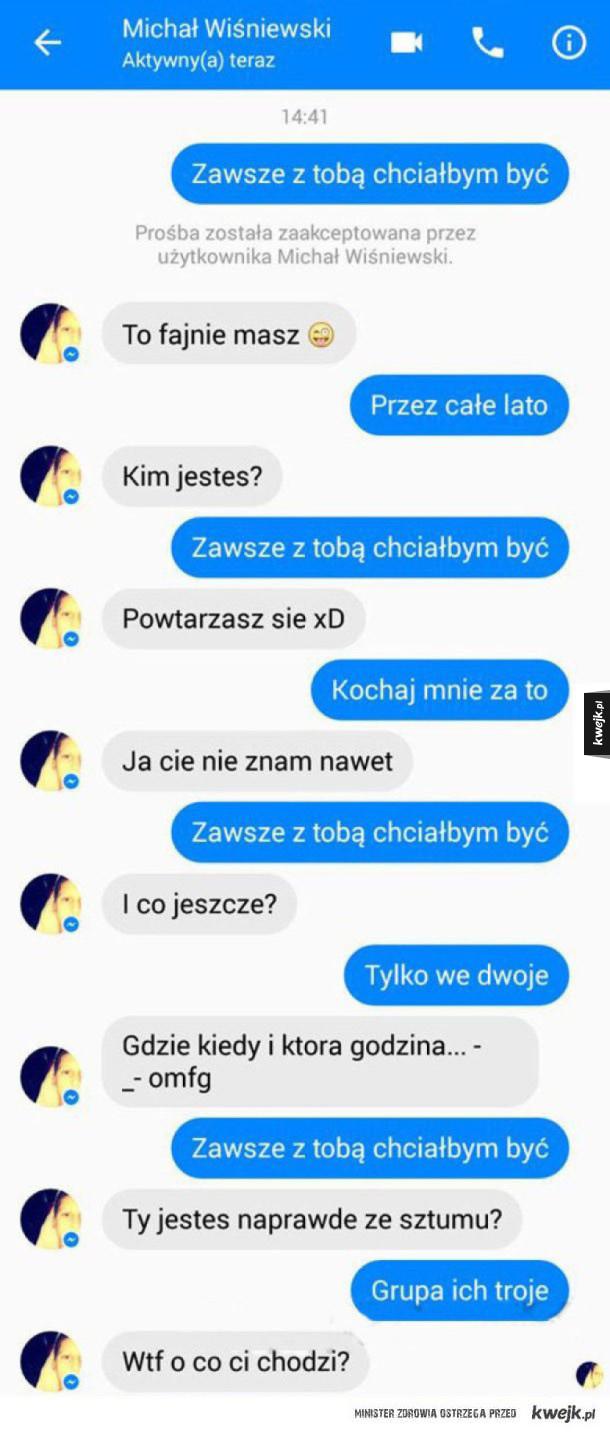 michał wiśniewski pisze