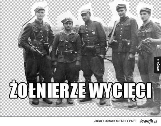 Żołnierze wycięci
