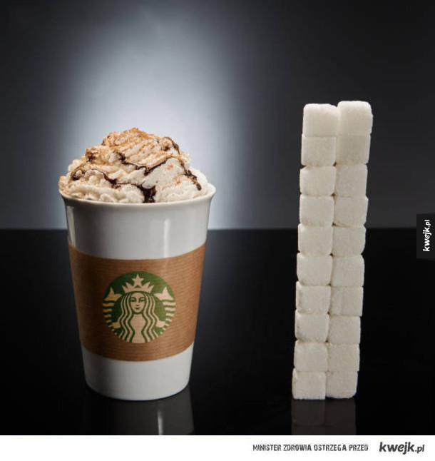 """Ile """"ukrytego"""" cukru zawierają różne pokarmy i napoje"""