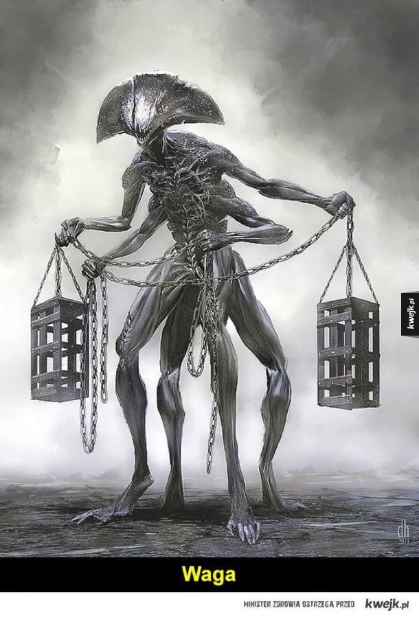 Horrorskop, czyli znaki Zodiaku w nieco makabrycznej wersji