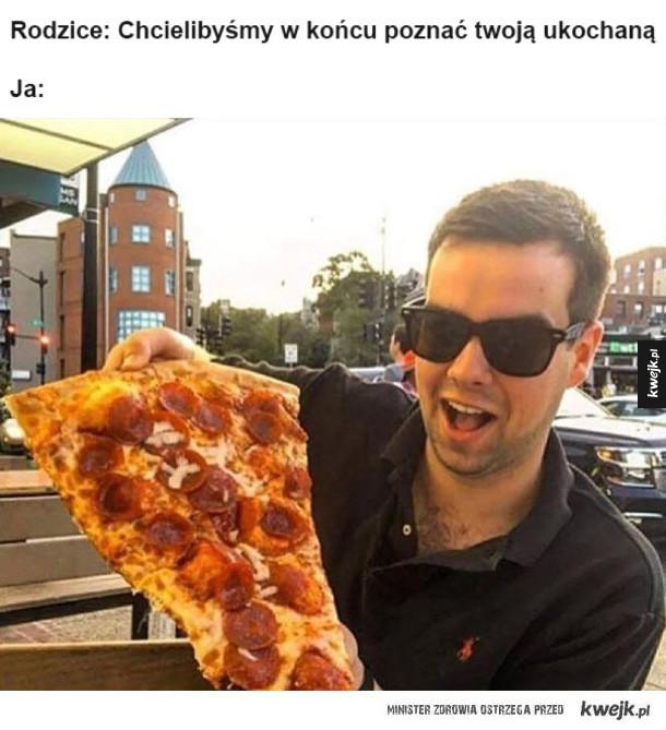 Zakochałem się w pizzy